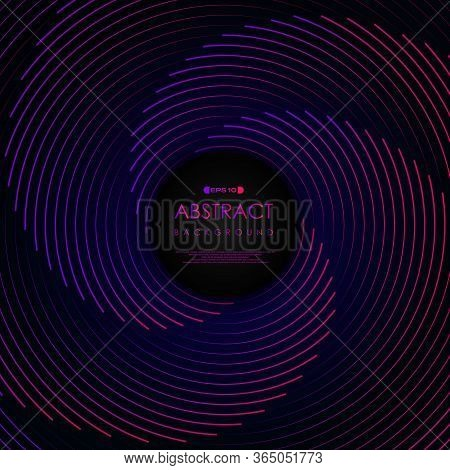 Abstract Stripe Line Pattern Color Line Swirl Artwork Background. Decorate For Ad, Poster, Template
