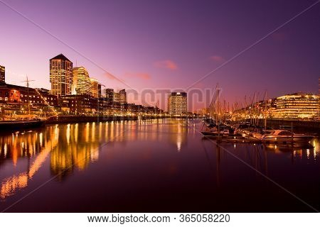 Marina At Puerto Madero At Capital Federal Of Buenos Aires, Argentina, South America