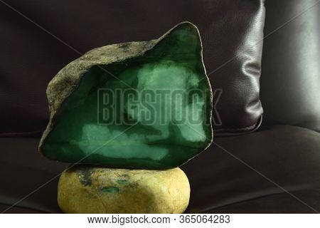 Real Jade Is A Rare Uncut Jade That Is Expensive Put Together