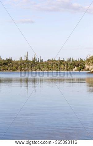 Vertical Seascape Of Ile Des Pins