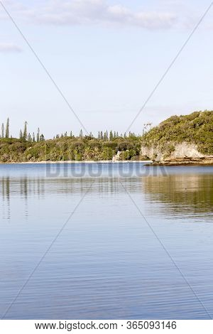 Vertical Seascape Of Ile Des Pins, New Caledonia