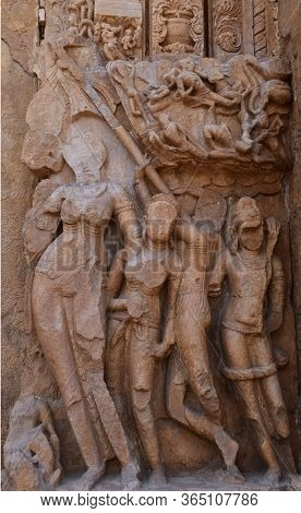 Gwalior, Madhya Pradesh/india : March 15, 2020 - Exterior Of Sas Bahu Temple In Gwalior Fort