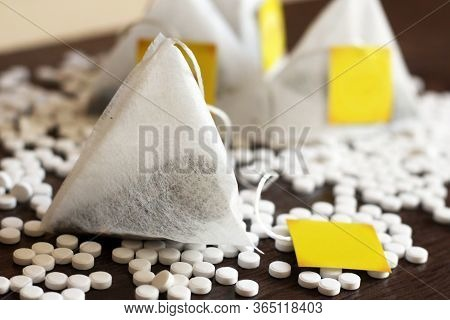 Sweetener In Tablets And Tea Bags, Artificial Sweetener So Close