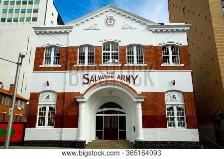 Perth, Australia - April 17, 2020: The Salvation Army Congress Hall