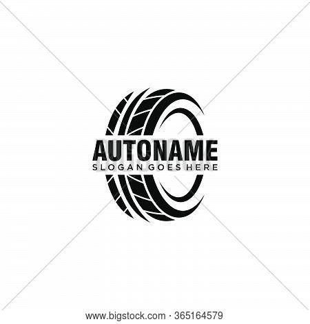 Abstract Sport Automotive Tire Logo Symbol Vector