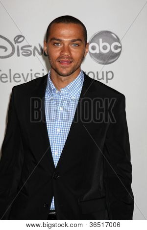 LOS ANGELES - AUGUST 1:  Jesse Williams arrive(s) at the 2010 ABC Summer Press Tour Party at Beverly Hilton Hotel on August 1, 2010 in Beverly Hills, CA.
