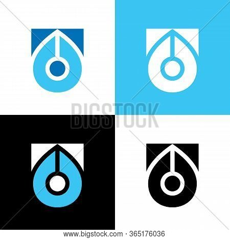 Writers Club Logo Design Template Elements, Fountain Pen Icon