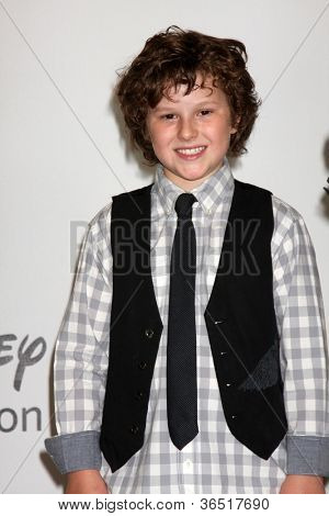 LOS ANGELES - AUGUST 1:  Nolan Gould arrive(s) at the 2010 ABC Summer Press Tour Party at Beverly Hilton Hotel on August 1, 2010 in Beverly Hills, CA