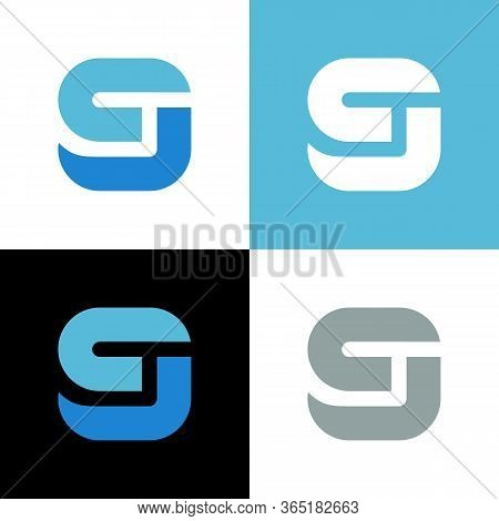 Abstract Number 9 Logo, Number Nine Icon Design - Vector