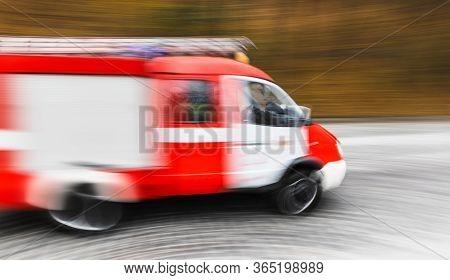 Ambulance On Emergency Call