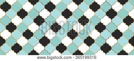 Ramadan Kareem Islam Decoration. Moroccan Seamless Texture Seamless Moroccan Mosaic Pattern. Ottoman