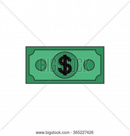 Money Vector Icon, Coin Money Vector, Eps10 Money Icon, Money Icon Symbol, Jpg Money Icon, Flat Mone