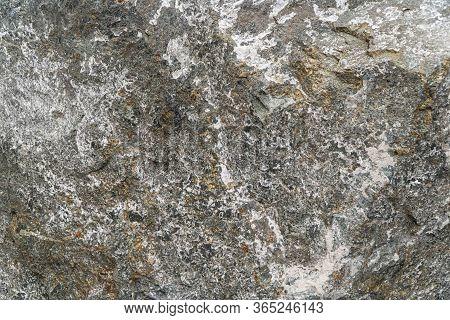 Sulphide Copper Nickel Ore Texture Close-up. Contains Chalcopyrite, Pyrrhotite, Petlandia, Cubanite