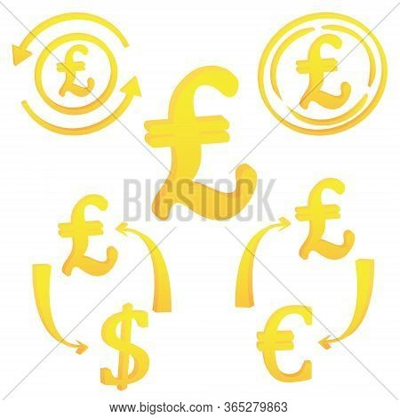 3d Italian Lira Currency Symbol Icon Of Italy Vector Illustration On A White Background