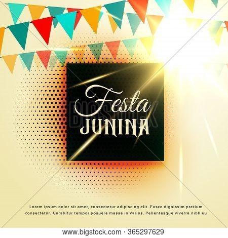 June Party Of Festa Junina Latin American Festival Vector Design Illustration