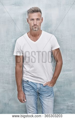 Handsome Hipster. Simple And Comfy. Quality Clothing Made To Last. Style And Versatility Of Quality