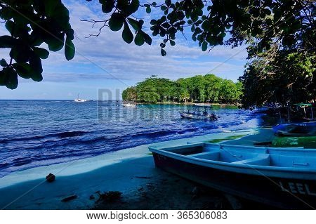 Puerto Viejo, Costa Rica, 2018.11.26., A Beach At The Caribbean Sea At Puerto Viejo