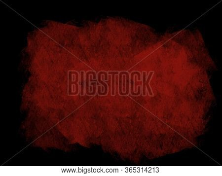 Red Color Abstract Color Surface For Text Background Over Black