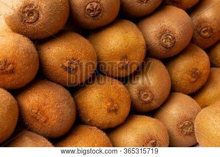 Kiwifruit Or Kiwi Or Chinese Gooseberry, Genus Actinidia, For Sale At New Market Area, Kolkata, West