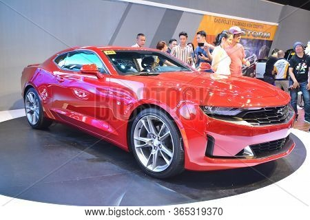 Pasay, Ph - Apr 7 - Chevrolet Camaro At Manila International Auto Show On April 7, 2019 In Pasay, Ph