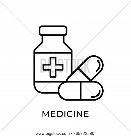Medicine. Medicine icon. Medicine vector. Medicine icon vector. Medicine box illustration template. Medicine icons. Medicine logo design. Medicine pills icon vector. Medicine vector icon flat design for web icons, logo, sign, symbol, app, UI.