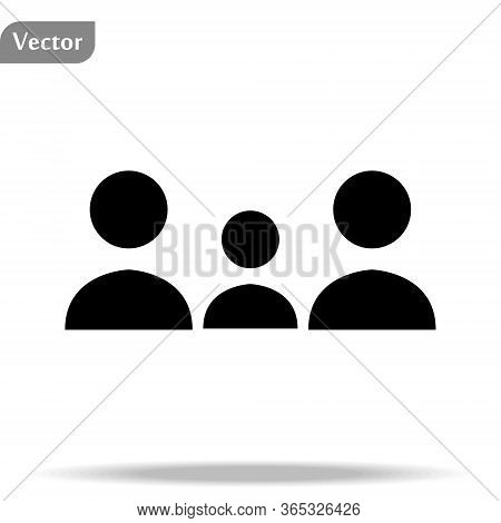 People Icon. Persons Symbol For Your Infographics Web Site Design People Iconvector Illustration Peo