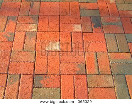 Basket Weave Patio