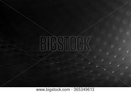 Black Seamless Abstract Blurry Background. Black Minimalism. Black Abstract Background.