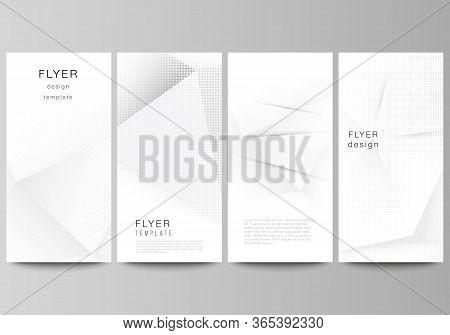 Vector Layout Of Flyer, Banner Design Templates For Website Advertising Design, Vertical Flyer Desig