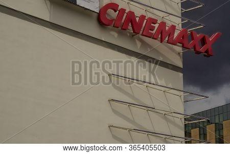 Stuttgart,germany - May 01,2020:robert-bosch-platz This Is A Building Of The Cinema Company Cinemaxx