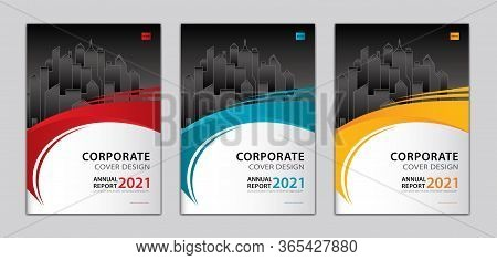 Corporate Cover Design Template Can Be Adapt To Annual Report, Presentation, Portfolio, Business Bro