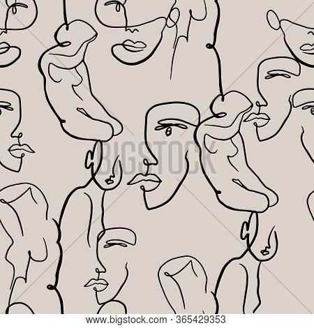 Doodle Romantic Pattern In Girlish Style With Pop Art Lips, Text, Heart,graffity, \\rgirl Portraits,