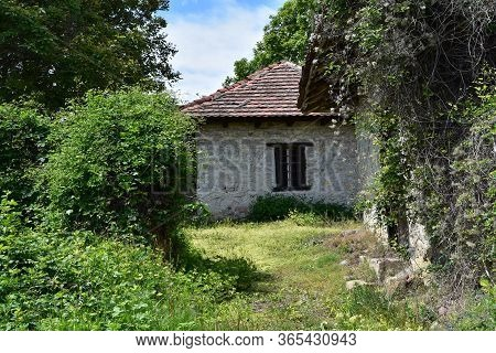 Old Abandoned House Used For Storing Wine