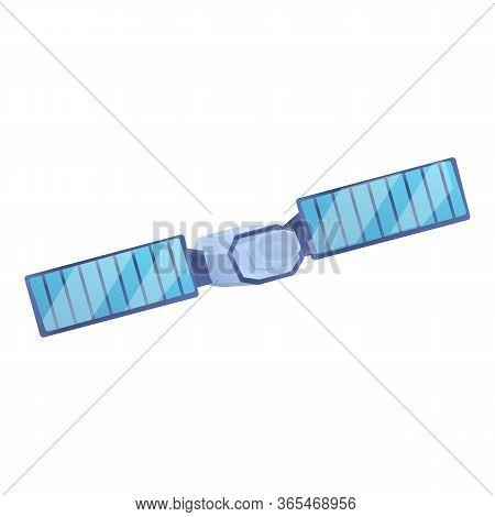 Astronomy Satellite Icon. Cartoon Of Astronomy Satellite Vector Icon For Web Design Isolated On Whit
