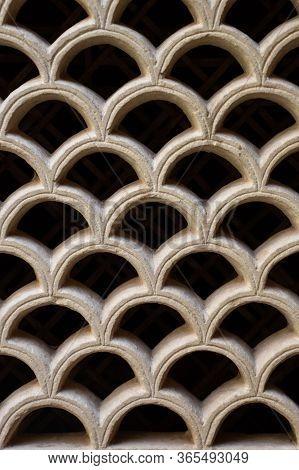 Gwalior, Madhya Pradesh/india - March 15, 2020 : Interior Of Window In Gwalior Fort