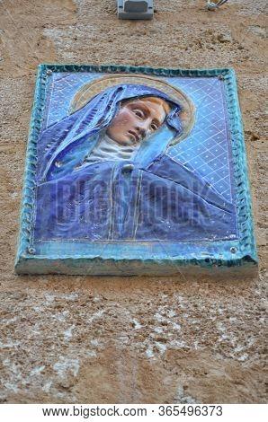 Sciacca, Sicily - 01.04.2016: The City Of Sciacca, Sicily