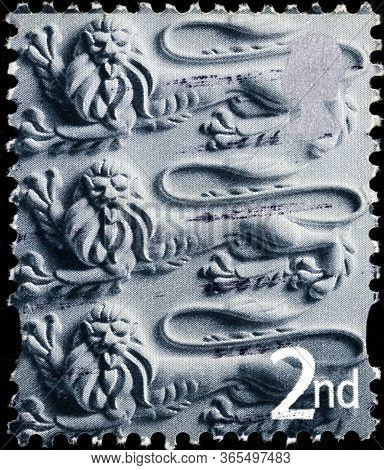 02 11 2020 Divnoe Stavropol Territory Russia The Postage Stamp Great Britain Regional Postage Stamps