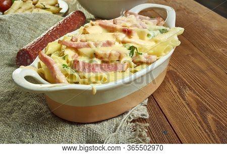 Baked Pasta Sri Lankan Style