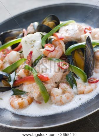 Malaya Fish Curry With Coconut