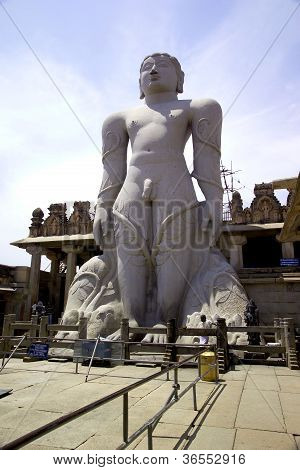 Statue At Sravanabelagola, India