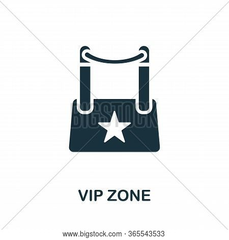 Vip Zone Icon. Simple Illustration From Night Club Collection. Creative Vip Zone Icon For Web Design