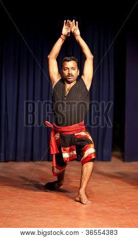 Kalaripayatt master, India