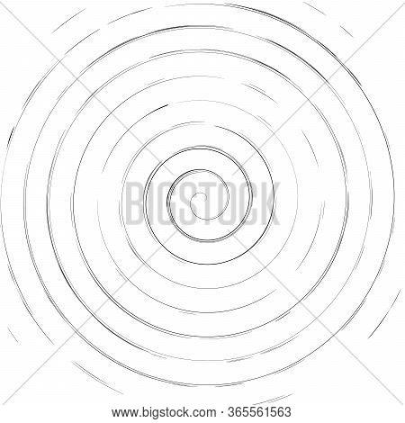 Vortex Futuristic Hypnotic Round Spiral Background. Stock Vector Illustration Isolated On White Back