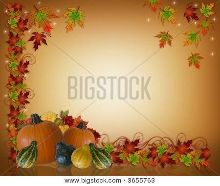 Autumn Thanksgiving Template