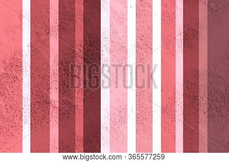 Striped Colorful Wall. Vintage Striped Background. Design Element.