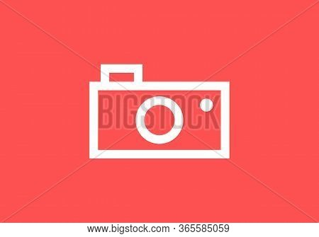 Photo Pamera Icon On White Background, Photo Camera Icon Eps10, Photo Camera Icon Vector, Photo Came