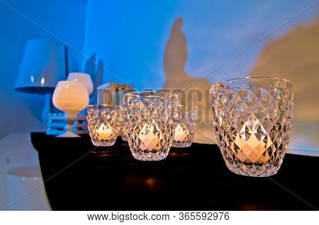 Burning Candles That Heat The Atmosphere