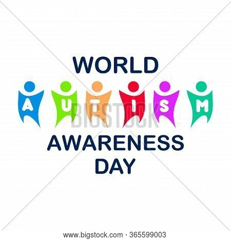 Colorful Design World Autism Awareness Day With Puzzle Graphic. World Autism Awareness Day For Banne