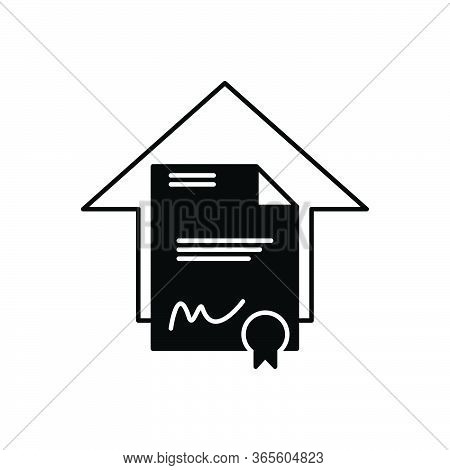 Black Solid Icon For Legal Aspects Juristic Juridical