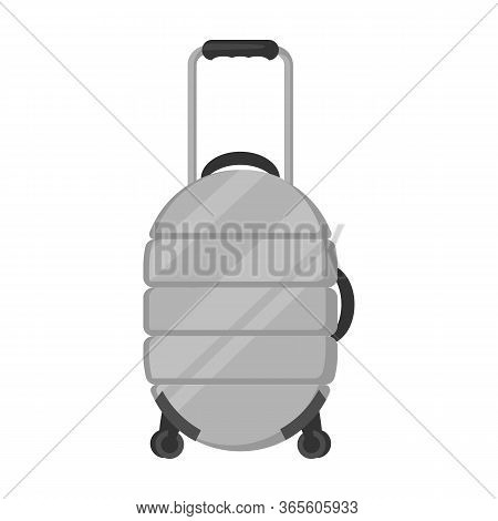 Suitcase Vector Icon.cartoon Vector Icon Isolated On White Background Suitcase.